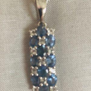 Jewelry - Diamond Sapphire Necklace